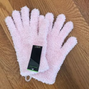 Fuzzy gloves